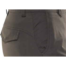 Fjällräven Abisko Pantaloni Capri Donna, dark grey